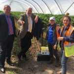 Graeme visited Angus Soft Fruits East Seaton operation with Scotland's Brexit Minister, Michael Russell, to hear from the firm and its migrant workers over their concerns about the impact of Brexit.