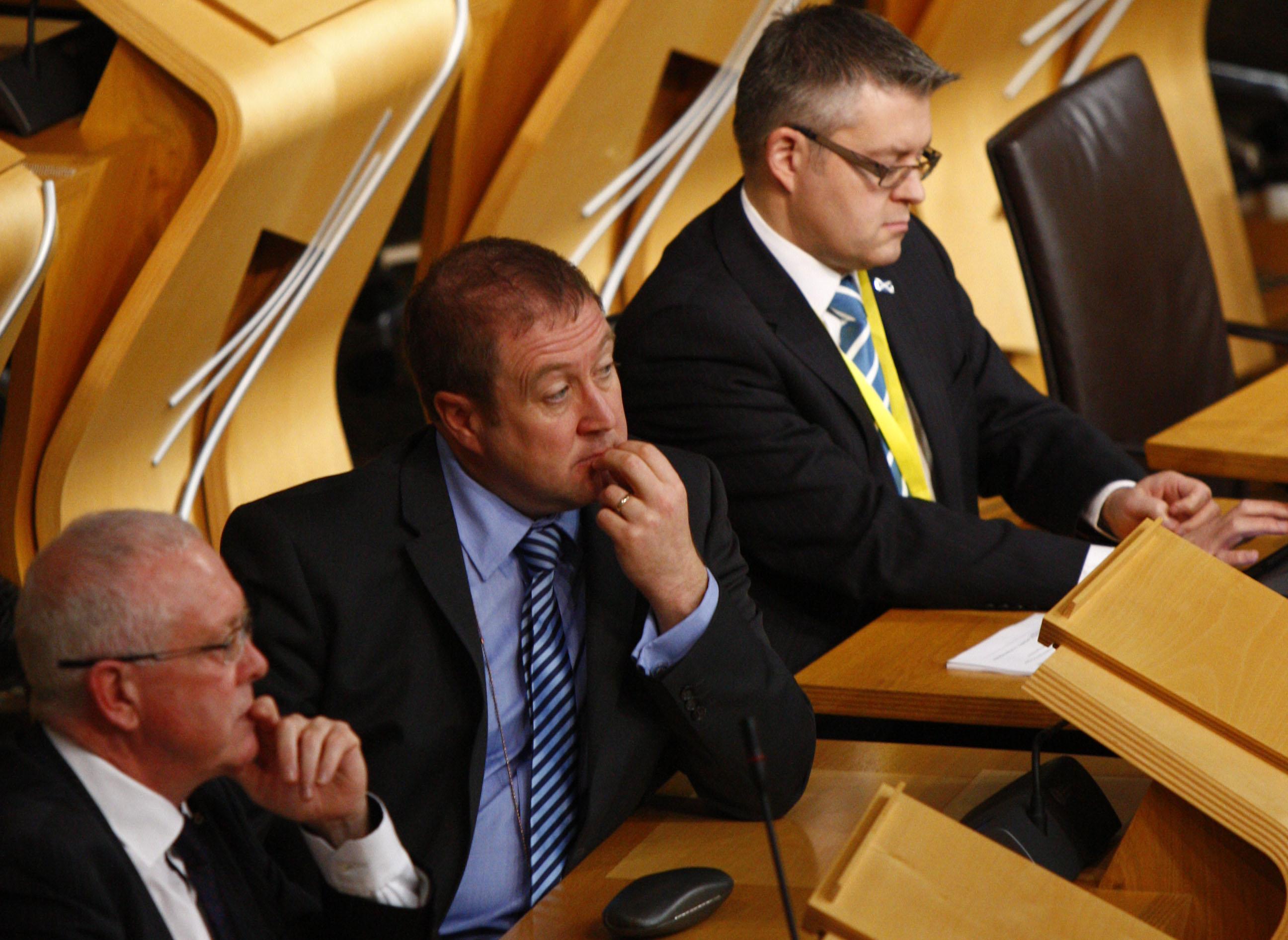 FMQ 4/12/14 Graeme Dey MSP. Pic - Maurice Laneres/Scottish Parliament