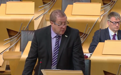 Question to the Finance Secretary on Scotland's Transition to a Low-Carbon Economy