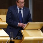 Graeme Dey MSP speaking during Jenny Gilruth's Members' debate on Mental Health Education. 29 September 2016. Pic - Andrew Cowan/Scottish Parliament