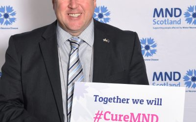 MSP meets Constituents at MND Scotland event