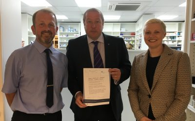 MSP Visits Pharmacy