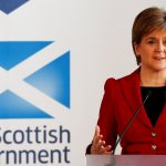First Minister Nicola Sturgeon speaks on the 20th anniversary of Scotland voting to establish its own Parliament, in Edinburgh. PRESS ASSOCIATION Photo. Picture date: Monday September 11, 2017. See PA story POLITICS Devolution. Photo credit should read: Russell Cheyne/PA Wire
