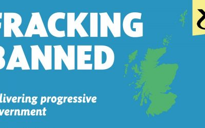 Scotland to ban fracking!