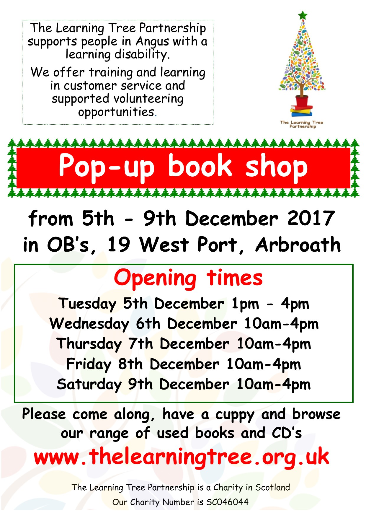 Decemberr pop up book shop poster (002)