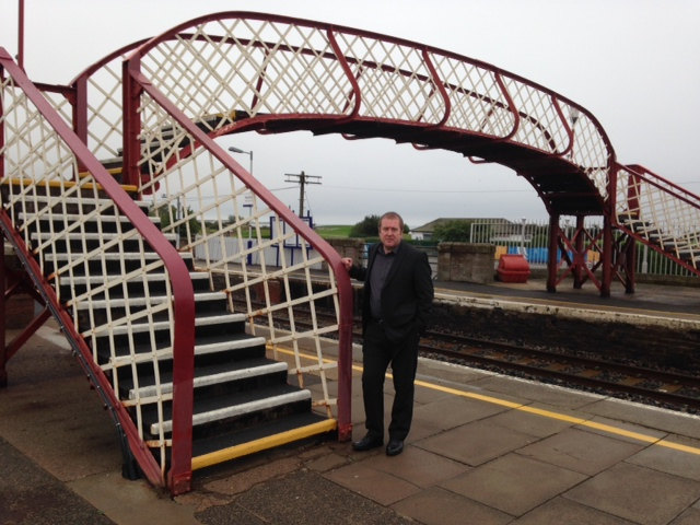Gd at Monifieth railway station