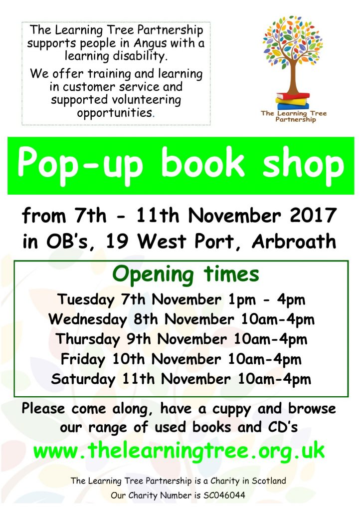 November pop up book shop poster (002)