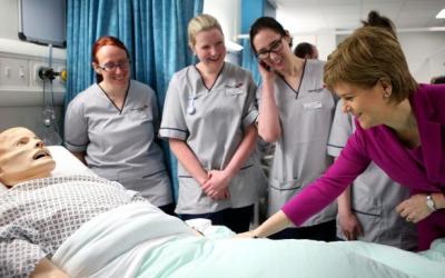 Increased Nursing Student Numbers In Scotland