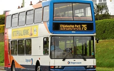 Graeme Dey MSP Fights to Keep Vital Bus Link