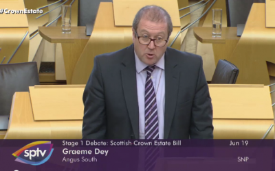 Debate: Scottish Crown Estates Bill