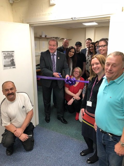 MSP Opens Remploy Scotland's Arbroath Branch