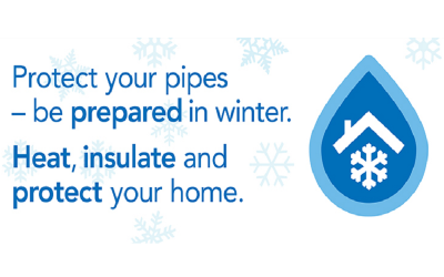 Prepare Your Homes For Winter – Scottish Water Advice
