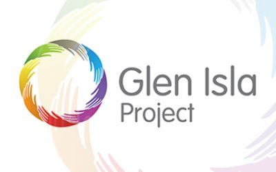 Justice Secretary visits Glen Isla Project