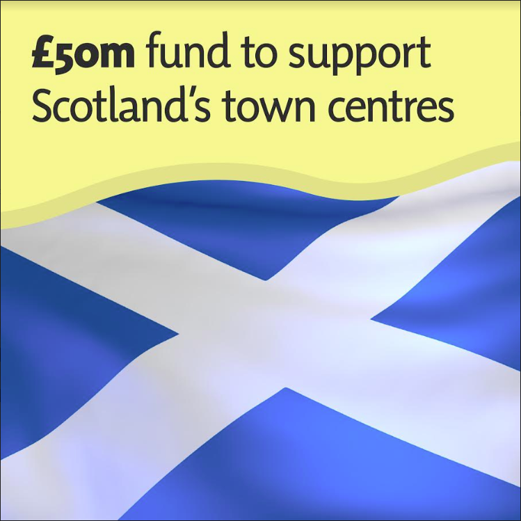 budget graphics - town centre fund