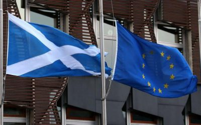 "SCOTLAND'S ECONOMY ""MOVING CLOSER"" TO EU"