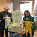 Attached picture shows Graeme Dey MSP with Maree Todd MSP, the Minister for Children and Young People.