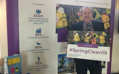 GRAEME DEY MSP SUPPORTS ANGUS SOUTH ACTIVITIES TO HELP SPRING CLEAN SCOTLAND