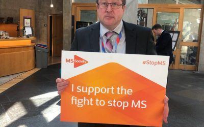 MSP PLEDGES TO FIGHT MS DURING AWARENESS WEEK