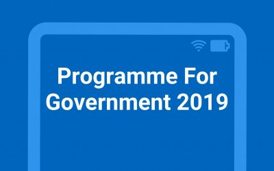MSP WELCOMES FM'S PROGRAMME FOR GOVERNMENT
