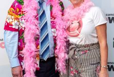 MSP 'WEARS IT PINK' FOR BREAST CANCER NOW