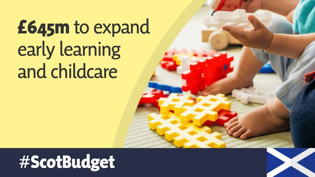 Budget Graphics - Childcare
