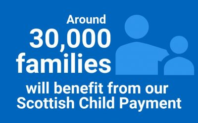 MSP: CHILD PAYMENT TO BENEFIT 8,200 ANGUS CHILDREN