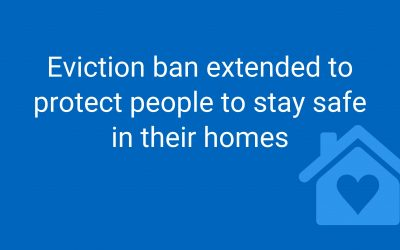 GRAEME WELCOMES EXTENSION OF EVICTION BAN