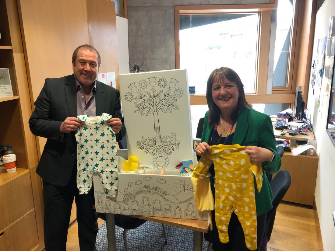 96% OF NEW PARENTS BENEFITTING FROM BABY BOXES