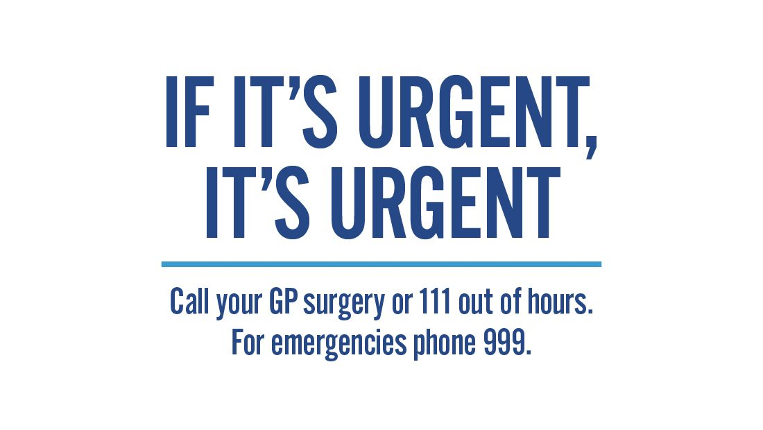 Uptake In Those With Urgent Health Concerns Using NHS
