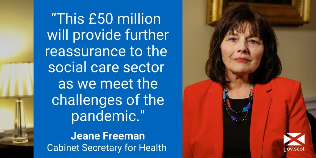 Further £50 Million for Social Care Sector