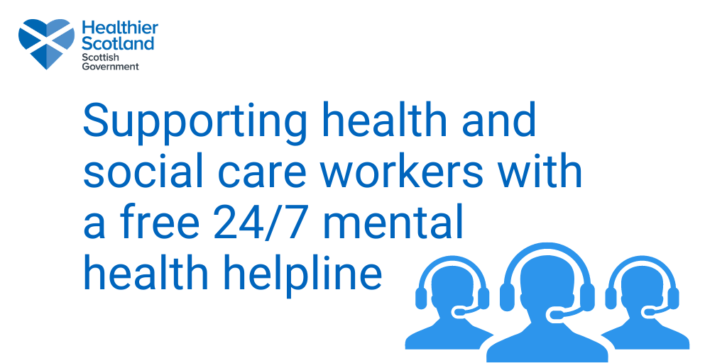 MORE MENTAL HEALTH SUPPORT FOR HEALTH & SOCIAL CARE STAFF