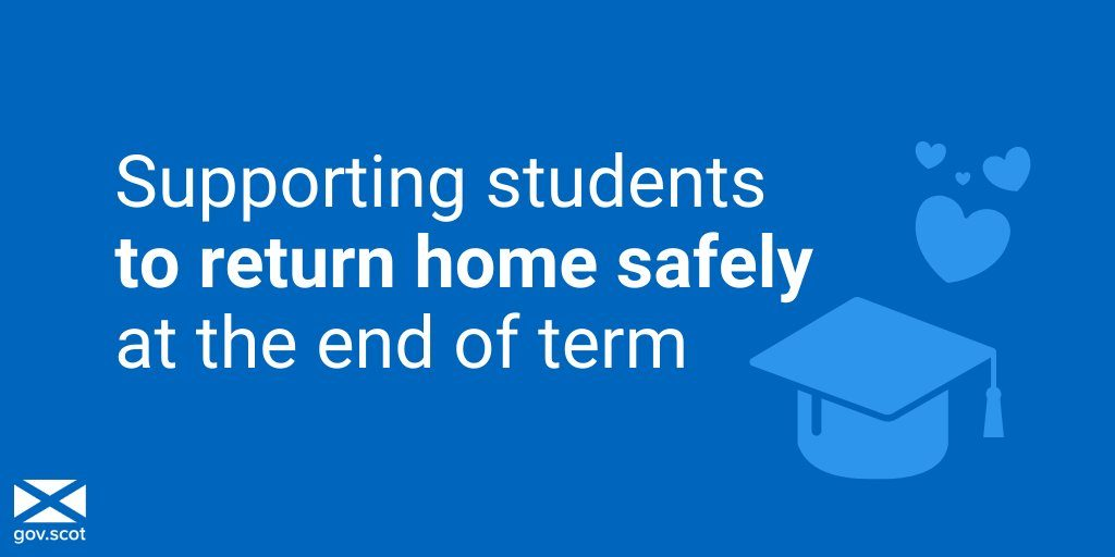 HELPING STUDENTS HOME AT END OF TERM