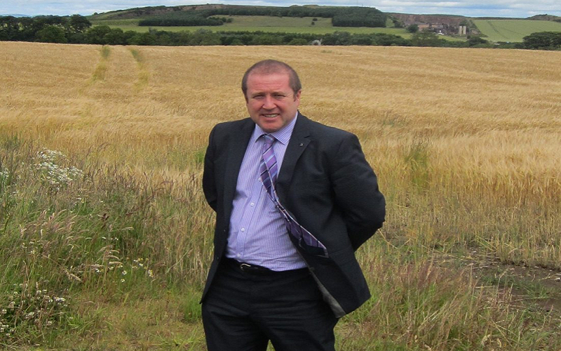 MSP BACKS EU CANDIDATE ON FARMING CONCERNS