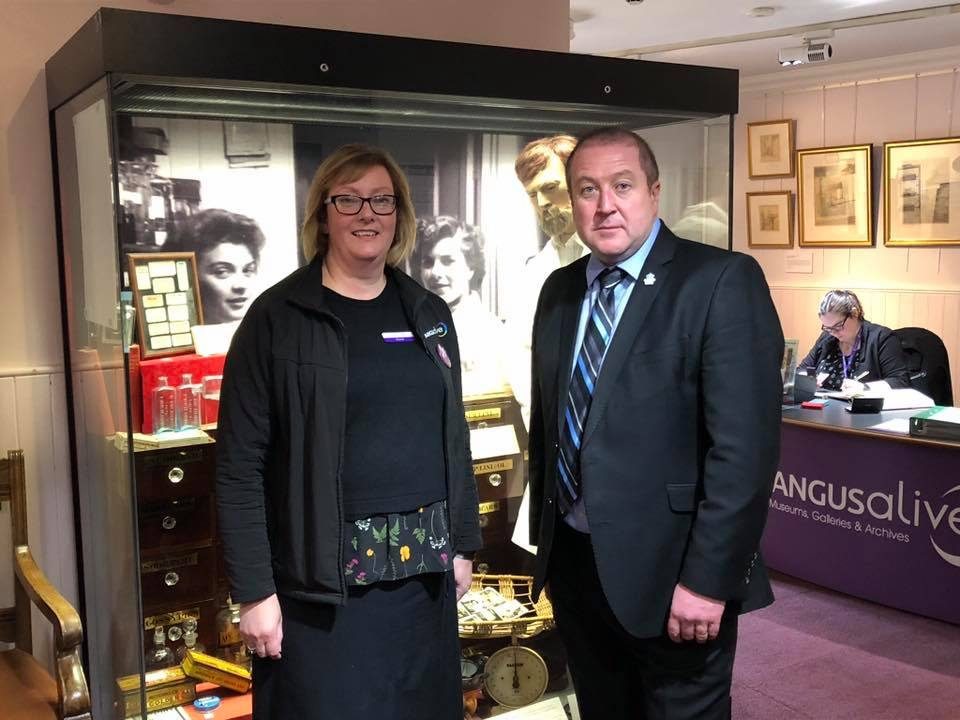 LOCAL MSP VISITS NEWLY ACCREDITED GATEWAY TO THE GLENS MUSEUM