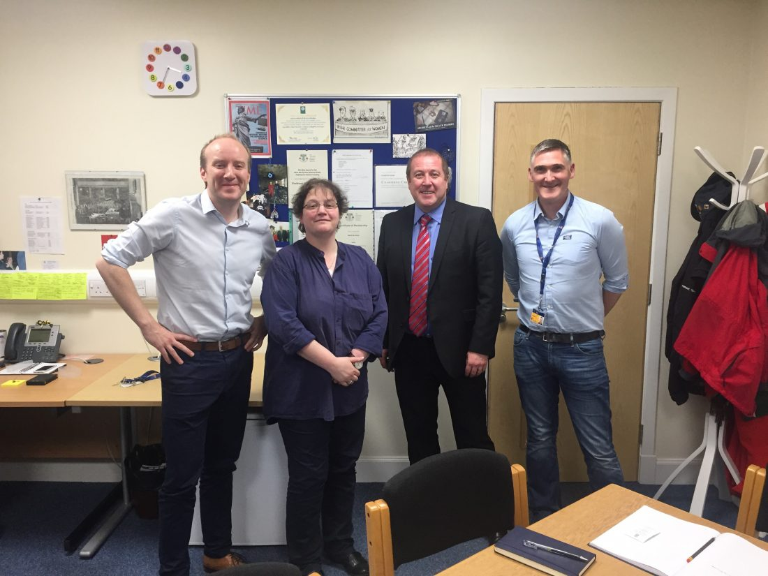 Graeme Visits Centre for Excellence in New Psychoactive Substances