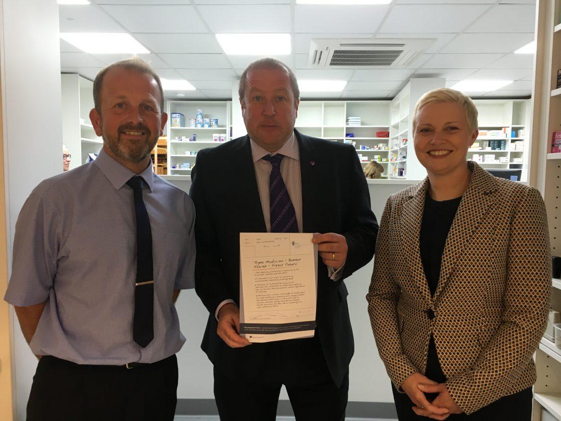 MSP Visits Pharmacy
