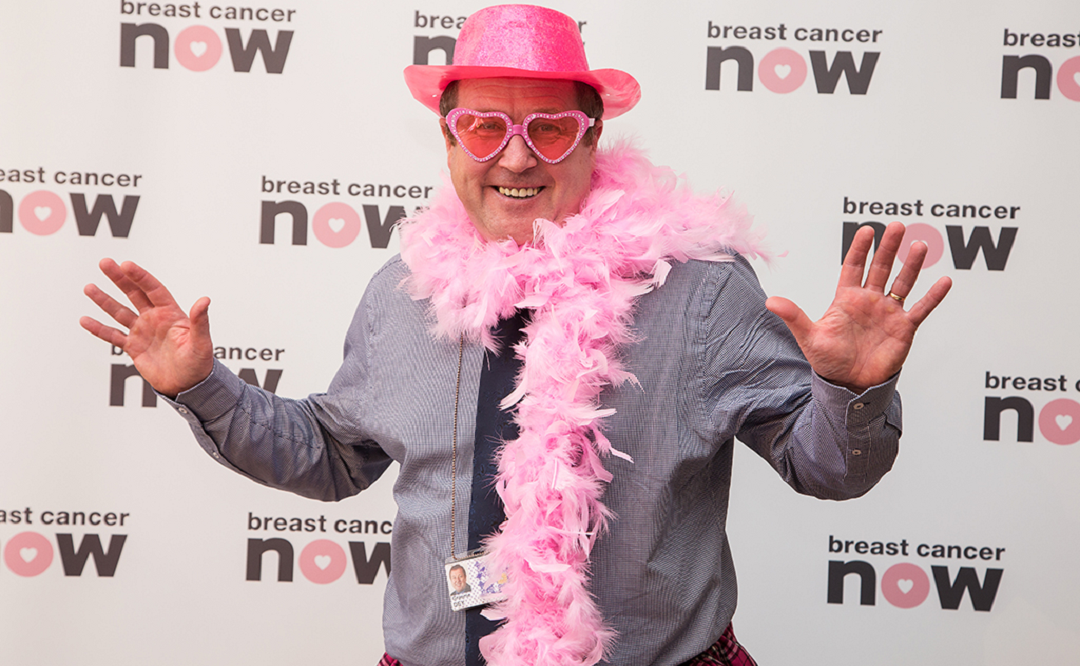 Graeme Wears It Pink In Parliament In Aid Of Breast Cancer Now