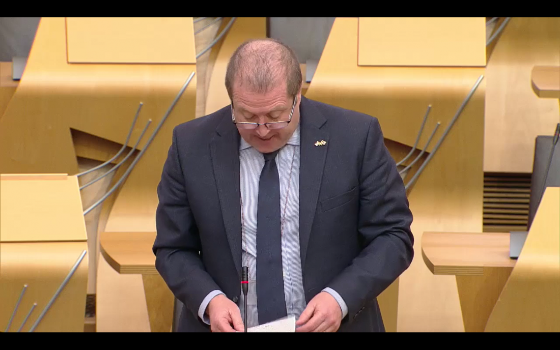 MSP Raises Bank Closure in Parliament