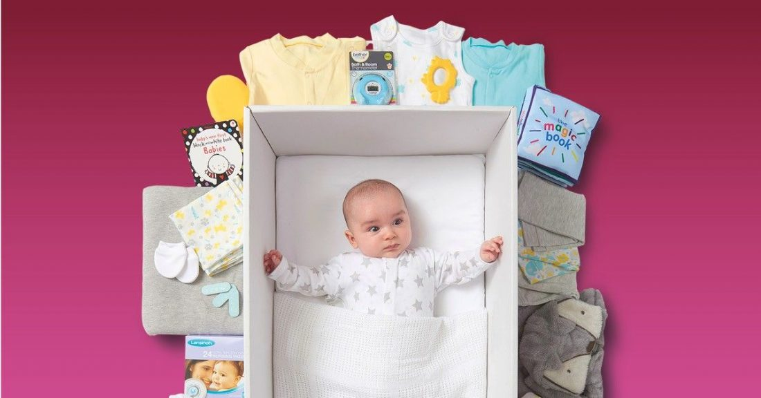 40,000 Baby Boxes delivered