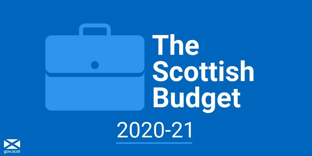 MSP WELCOMES SCOTTISH GOVERNMENT BUDGET