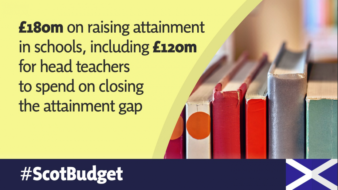 MSP WELCOMES SCOTTISH TEACHER NUMBERS