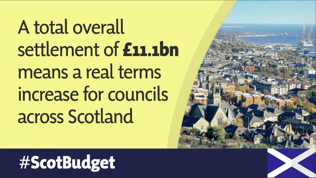 £10.5M FUNDING BOOST FOR ANGUS COUNCIL