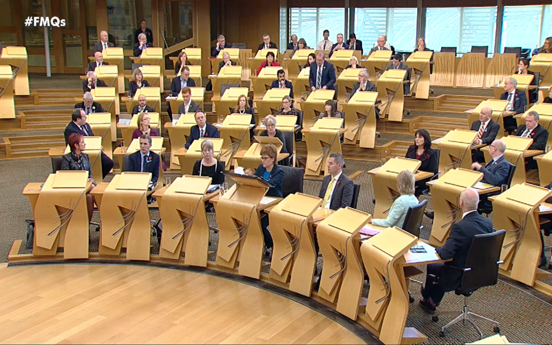 FMQs: Offshore Wind Farms in the Firths of Forth and Tay