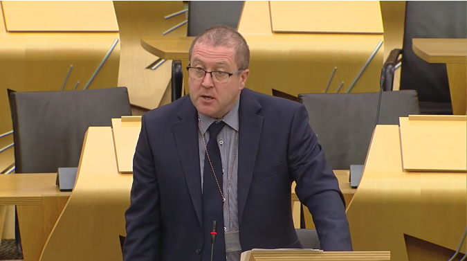 Graeme Dey Raises Disappointment with Angus Council