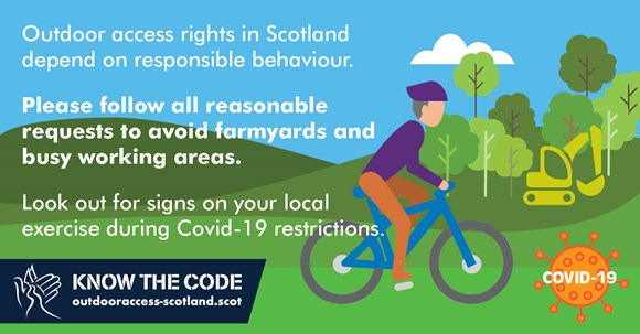 Public Urged To Follow Covid-19 Outdoor Access Guidance