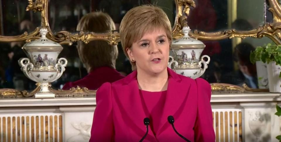 Hard Brexit Means Option Of Independence Must Be Offered