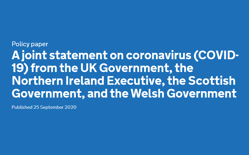 Joint Statement on COVID-19