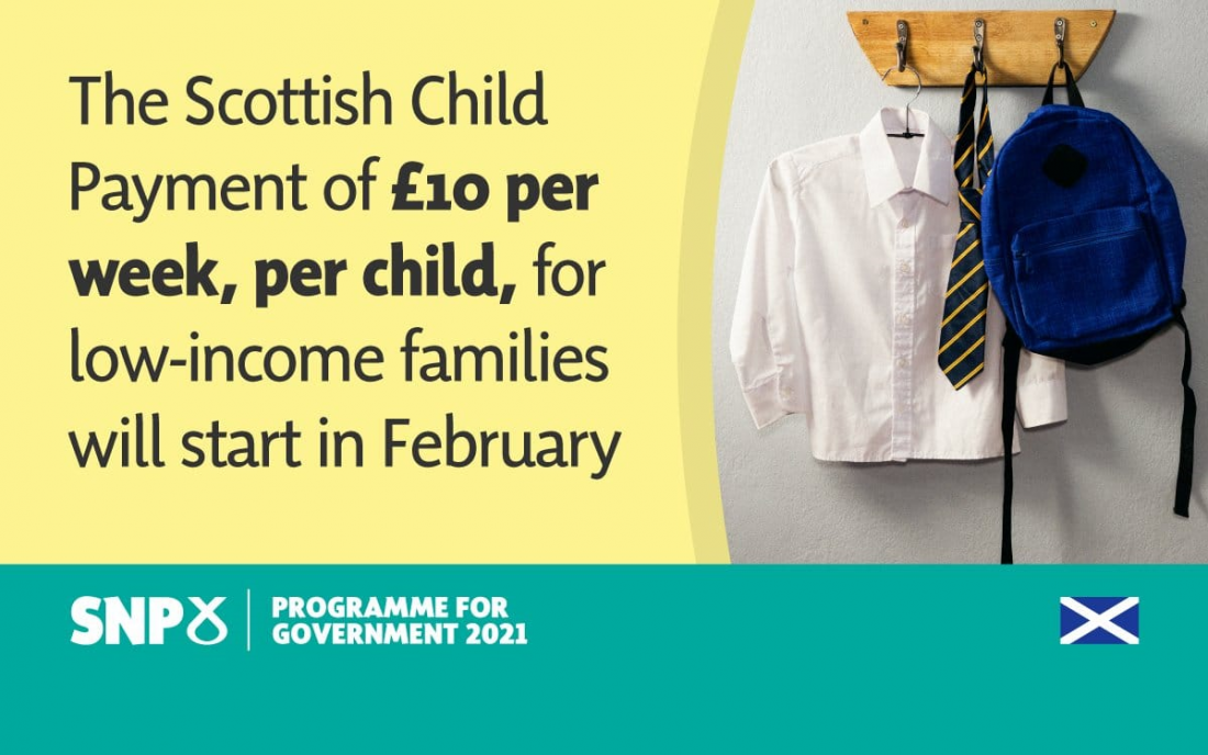 New Scottish Child Payment Begins