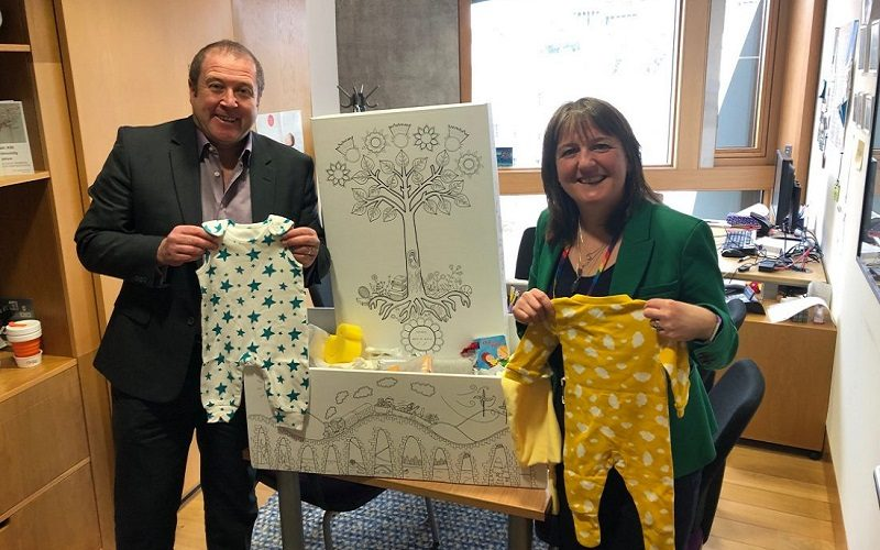 8900 Baby Boxes Delivered by SNP Government in Tayside